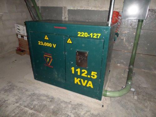 23,000v 220-127 112.5KVA